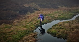 The long jump prevents you from swimming through bog