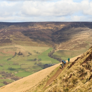 Final section with Edale valley in the background