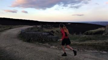 Running Houndkirk road