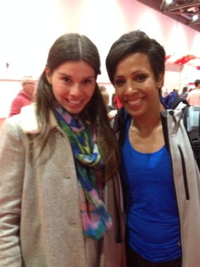 Meeting Dame Kelly Holmes