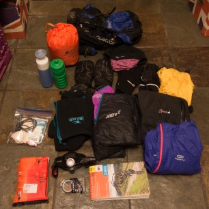 Kit we carried (per person)