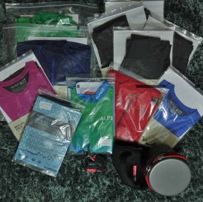 Alpkit have generously given us running and cycling kit!