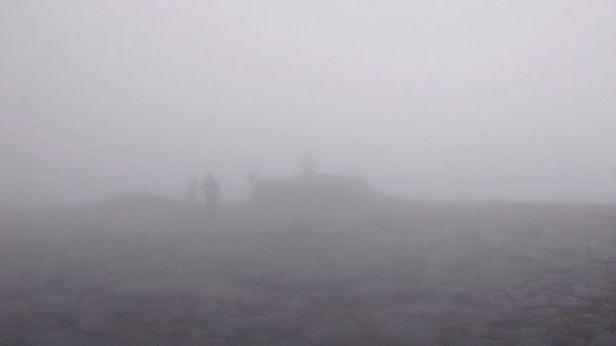 Ben MacDui in the fog!