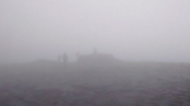 Ben MacDui in the fog!