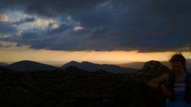 sunset on Ben Vane
