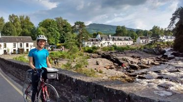 cyling through killin