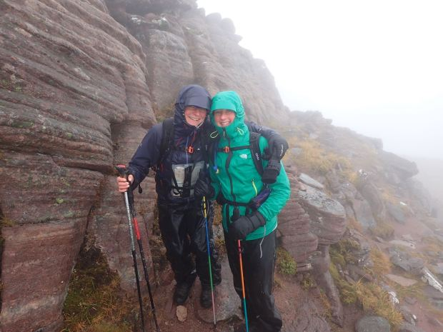 Wet day on An Teallach