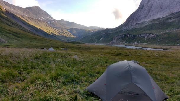 Wild camp on Day 2